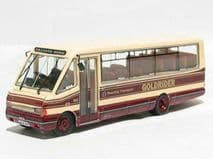 BRITBUS MRL 06 00 SCALE MCW Metrorider long in crimson and cream Reading Transpo